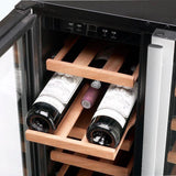 Vestfrost - 38 Bottle Built In Dual Zone Wine Cooler W38 - [product _type] - [productvendor] - Elite Wine Refrigeration