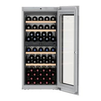 Liebherr - 51 bottle Integrated Wine Cooler EWTGB2383 Elite Wine Refrigeration
