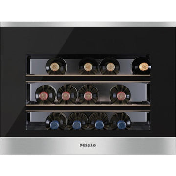 Miele - 18 bottle Integrated Wine Cooler KWT 6112 iG Stainless Steel