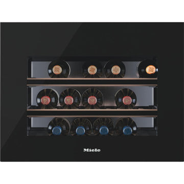 Miele - 18 bottle Integrated Wine Cooler KWT 6112 iG Black