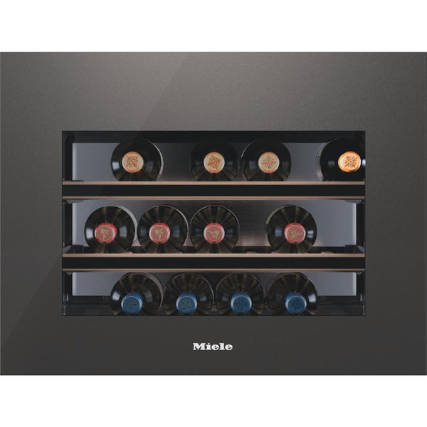 Miele - 18 bottle Integrated Wine Cooler KWT 6112 iG Grey - [product _type] - [productvendor] - Elite Wine Refrigeration