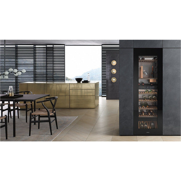 Miele - 83 bottle Integrated Wine Cooler KWT 6722 iGS - Elite Wine Refrigeration
