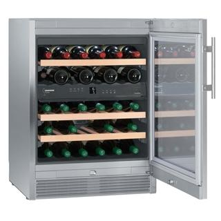Liebherr - 34 Bottle Built In Dual Temperature Zone Wine Cooler WTes1672 Elite Wine Refrigeration