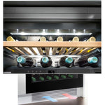 Liebherr - 34 Bottle Built In Dual Temperature Zone Wine Cooler WTes1672 - Elite Wine Refrigeration