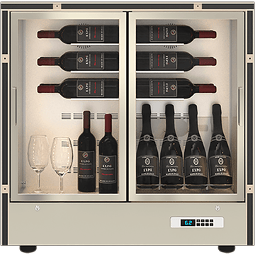 Mod 20 - Modular Wine Wall MD-24 - For Home Use