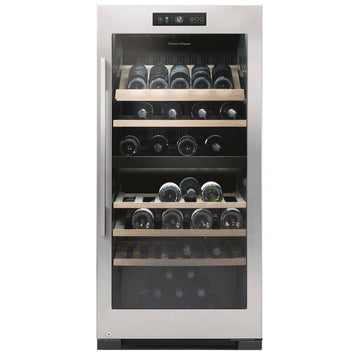 Fisher and Paykel - 83 Bottle Dual Zone Wine Cabinet RF206RDWX1