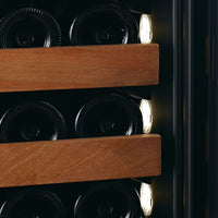 SWISSCAVE - 168 Bottle Dual Temperature Zone Wine Cooler - WLB460DFL