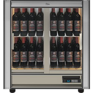 Teca M - Modular Magnetic Wine Wall TMV23 - For Restaurant Use