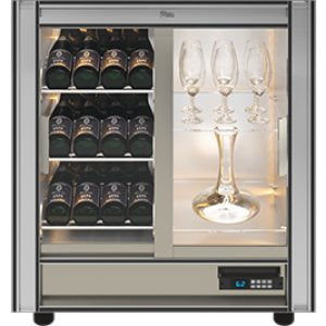 Teca M - Modular Magnetic Wine Wall TMV24 - For Restaurant Use