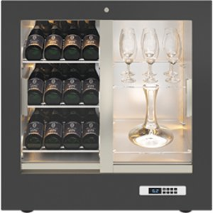 Teca Vino - Wine Wall TV24 - For Restaurant Use