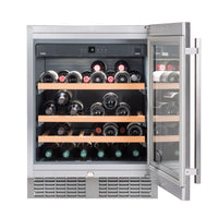 Liebherr - 46 Bottle Built In Single Temperature Zone Wine Cooler UWKES1752