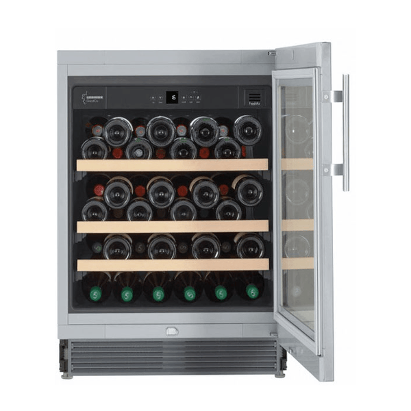 Liebherr - 46 Bottle Built In Single Temperature Zone Wine Cooler UWKES1752 Elite Wine Refrigeration