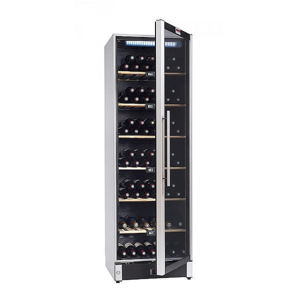 La Sommeliere - 195 Bottles Freestanding Multiple Zone Wine Cabinet VIP180 Elite Wine Refrigeration