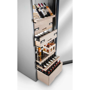 La Sommeliere - 162 Bottles Freestanding Multiple Zone Wine Cabinet VIP315V-FS