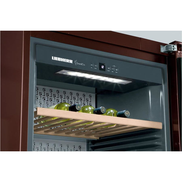 Liebherr - 312 Bottle GrandCru Freestanding Wine Cabinet WKt6451 Elite Wine Refrigeration