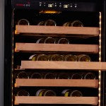 SWISSCAVE - 160 Bottle Dual Temperature Zone Wine Cooler - WLB450DFL - [product _type] - [productvendor] - Elite Wine Refrigeration