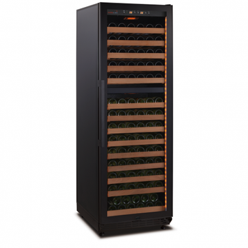 SWISSCAVE - 160 Bottle Dual Temperature Zone Wine Cooler - WLB450DFL