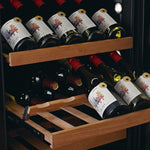 SWISSCAVE - 141 Bottle Single Temperature Zone Wine Cooler - WLB460FLD