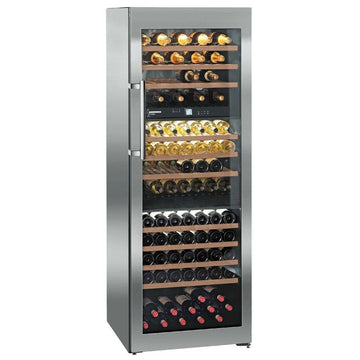 Liebherr - 178 Bottle Three Temperature Zone Freestanding Wine Fridge WTES 5872