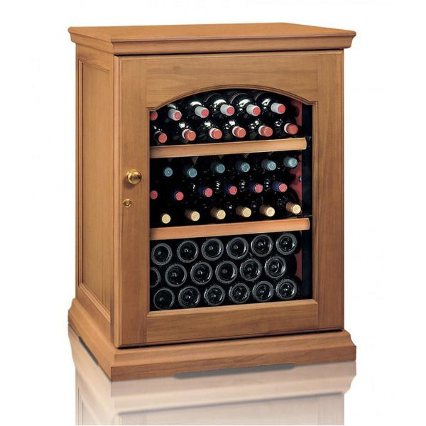 IP Industrie - 50 bottle Freestanding Wooden Wine Cabinet - CEXK 151