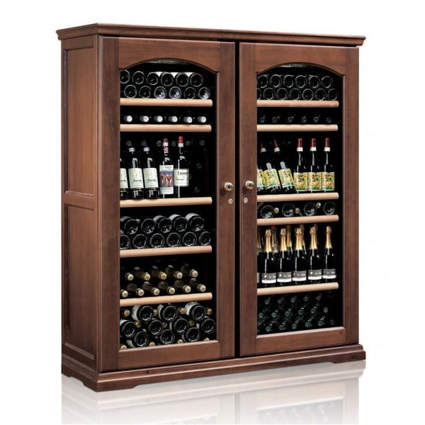 IP Industrie - 230 bottle Freestanding Wooden Wine Cabinet - CEXK 2401