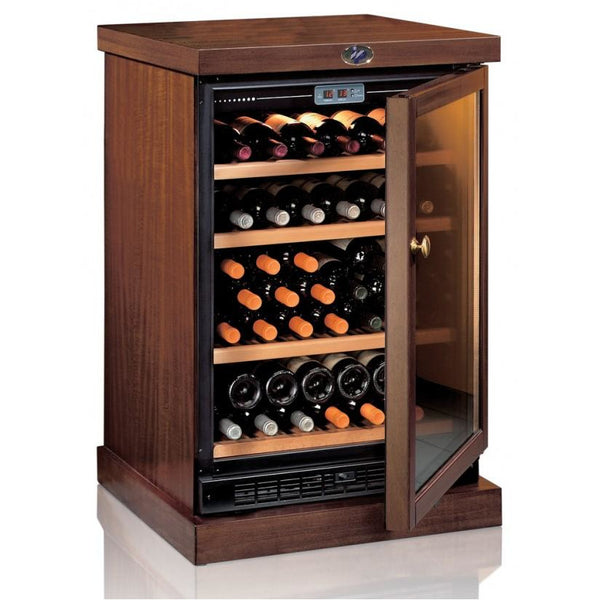 IP Industrie - 45 bottle Freestanding Wooden Wine Cabinet - CEXP 45A