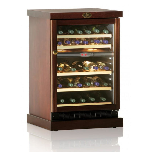 IP Industrie - 45 bottle Freestanding Wooden Wine Cabinet - CEXP 45AD
