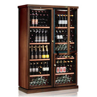 IP Industrie - 272 bottle Freestanding Wooden Wine Cabinet - CEXPK 2651