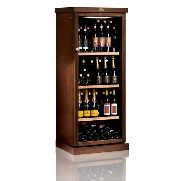 IP Industrie - 115 bottle Freestanding Wooden Wine Cabinet - CEXP 401