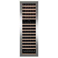 Dunavox - 114 bottle Integrated Dual Zone Wine Cooler DAB-114.288DSS.TO Elite Wine Refrigeration