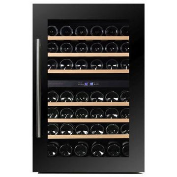 Dunavox - 42 bottle Integrated Dual Zone Wine Fridge DAB-42.117DB