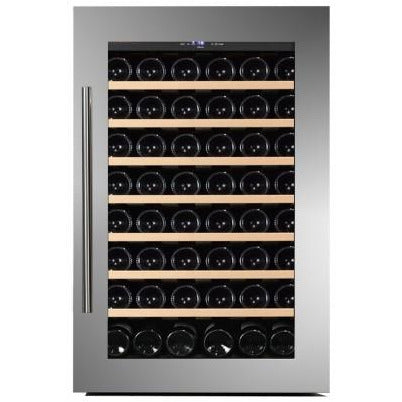 Dunavox - 48 bottle Integrated Single Zone Wine Fridge DAB-48.125SS Elite Wine Refrigeration