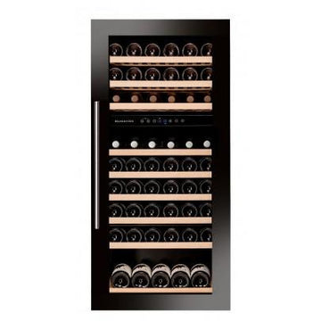 Dunavox - 89 bottle Integrated Dual Zone Wine Fridge DAB-89.215DB