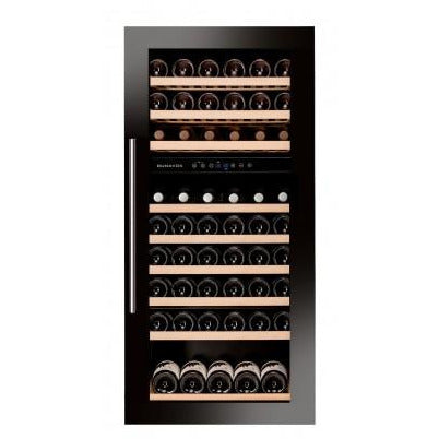 Dunavox - 89 bottle Fully Integrated Dual Zone Wine Fridge DAB-89.215DB Elite Wine Refrigeration