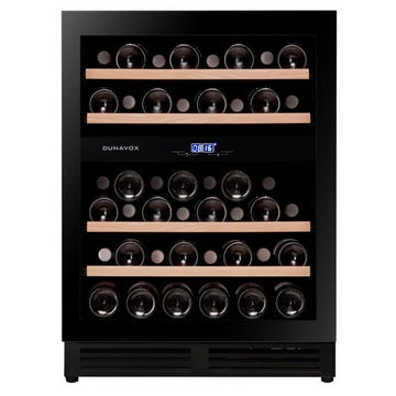 Dunavox - 600mm Handle-less Built in Wine Cooler DAU-45.125DB.TO