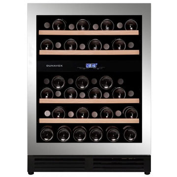 Dunavox - 600mm Handle-less Built in Wine Cooler DAU-45.125DSS.TO