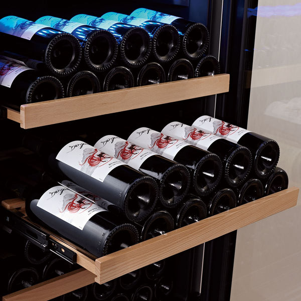 SWISSCAVE - Classic Edition 166 Bottles Dual Zone Wine Cooler WL455DF