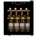 Dunavox - 16 bottle Mini Tabletop Freestanding Wine Cabinet DX-16.46K