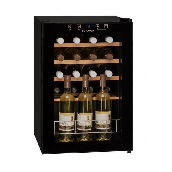 Dunavox - 20 bottle Mini Freestanding Wine Cabinet DX-20.62KF - Elite Wine Refrigeration
