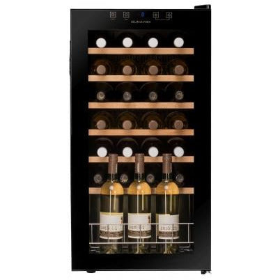 Dunavox - 28 bottle Freestanding Wine Cabinet DX-28.88KF Elite Wine Refrigeration