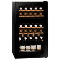 Dunavox - 30 bottle Freestanding Dual Zone Wine Cabinet DX-30.80DK Elite Wine Refrigeration