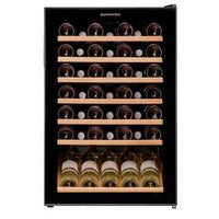 Dunavox - 48 bottle Freestanding Wine Cabinet DX-48.130KF Elite Wine Refrigeration