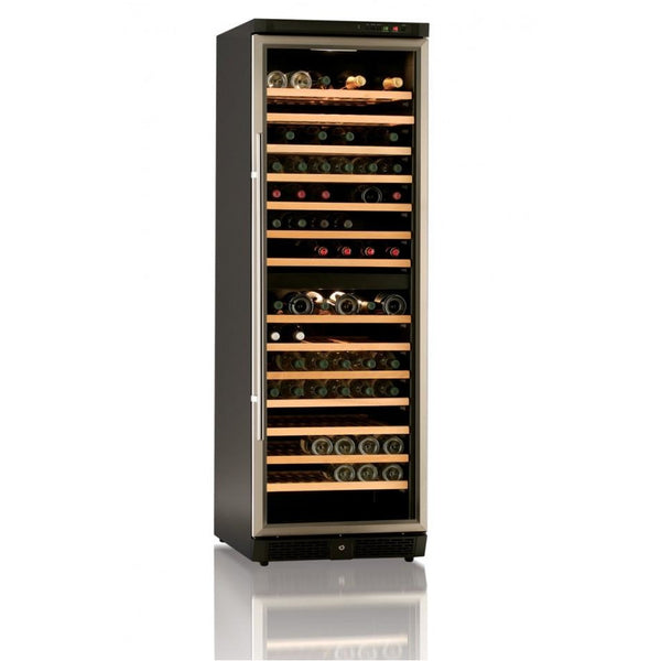 IP Industrie 154 Bottle Built In Dual Zone Wine Cabinet - JG168AD