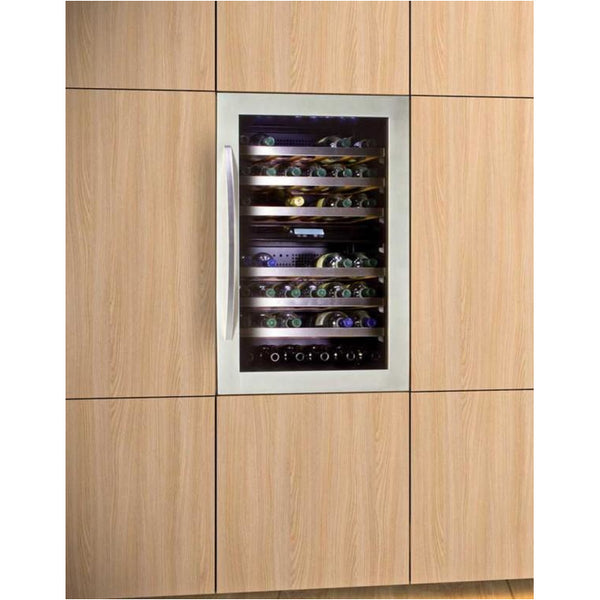 IP Industrie 42 Bottle Dual Zone Integrated Wine Cabinet - JG 48 AD
