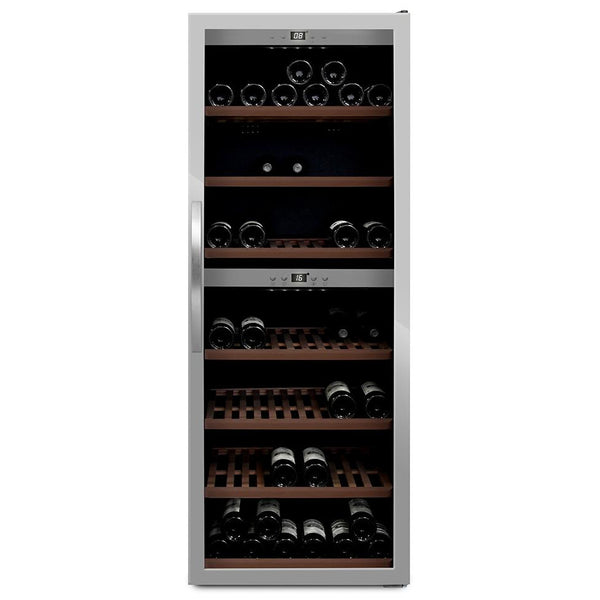mQuvée - Wine Expert 126 Freestanding Wine Cooler - stainless steel Elite Wine Refrigeration