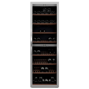 mQuvée -  Wine Expert 180 Freestanding Wine Cooler - Stainless Steel