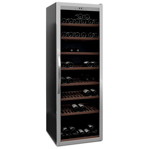 mQuvée - Wine Expert 192 Freestanding Wine Cooler - Stainless steel Elite Wine Refrigeration