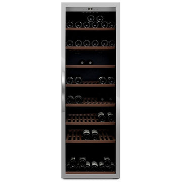 mQuvée -  Wine Expert 192 Freestanding Wine Cooler - Stainless Steel