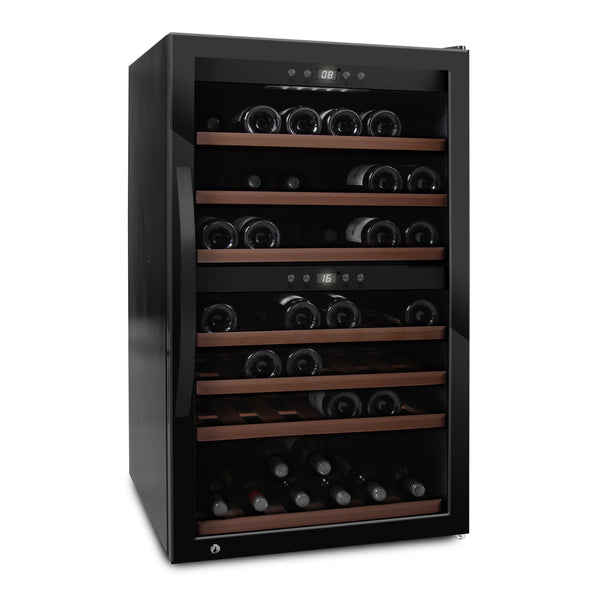 mQuvée - Wine Expert 66 Freestanding Wine Cooler - Black Elite Wine Refrigeration