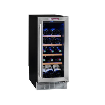 La Sommeliere - 21 bottle Built in Wine Cooler 30cm CVDE21